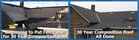 30 Year Architeciural Compositon roof before and after